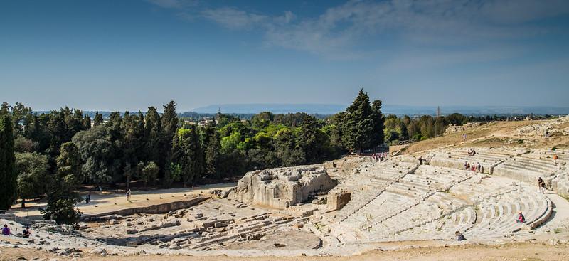 Greek Theatre, Syracuse, Sicily