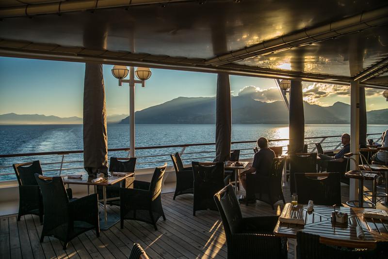 Dining Balcony, Azamara Journey