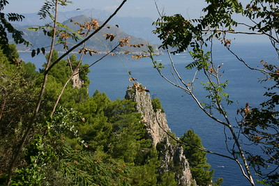 Bay of Naples from Capri