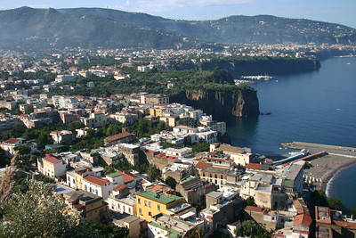 Sorrento Overlooks the Bay of Naples