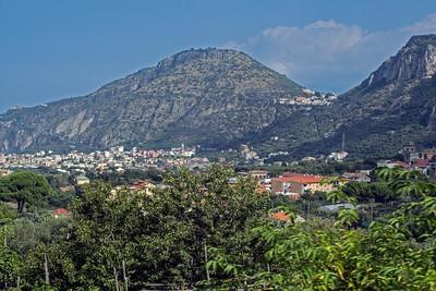 In the hills along the Amalfi Coast