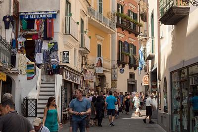 Street in Amalfi