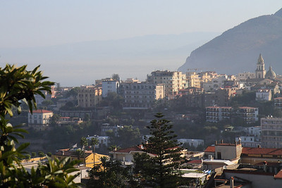 Morning sun on the coastal area between Naples and Sorrento.