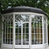This is the real pavillon, but not in the original location. It is locked now, because too many middle-aged and old women tried to recreate the Leisl's dance with Rolf as she leapt from bench to bench like a Lipizanner stallion. One woman fell, broke her hip and henceforth the pavilion has been locked.