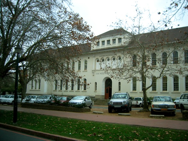 103 University of Stellenbosch