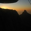 062 Sunset Behind Table Mountain (under the other cable car!)