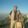 043 Stephen and Cissa on Table Mountain