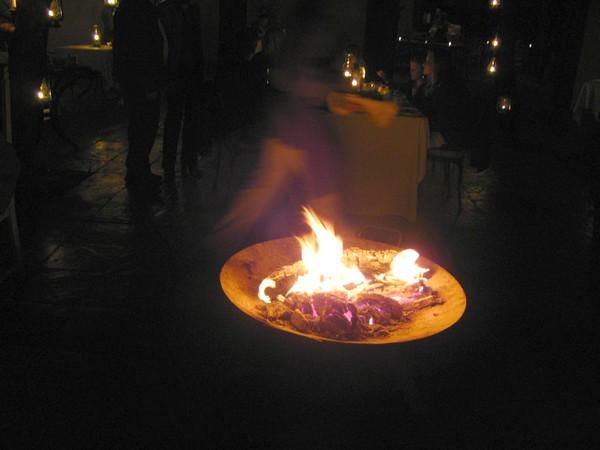 024 Open Fire at Dinner