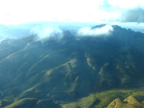 The Guys Cross the Drakensberg Mountains... while the Girls Watch the Leopards