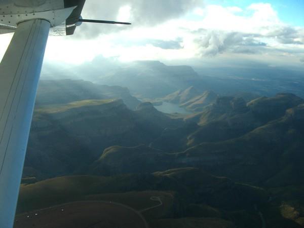 Lake in the Drakensbergs