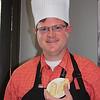John's attempt at braiding the dough