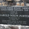 Harold Nixon Porter Botanical Gardens - this was just a restroom break for us - but what an amazing place to find relief!