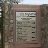 "At the gate of the Kapama Game Reserve ( <a href=""http://www.kapama.co.za"">http://www.kapama.co.za</a>)"