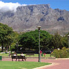 DAY TWO:  View of Table Mountain from the Company Gardens (0:20)