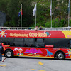 Hop on hop off bus, great way to see the major attractions of Cape Town