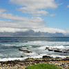 View on Cape Town from Robben Island