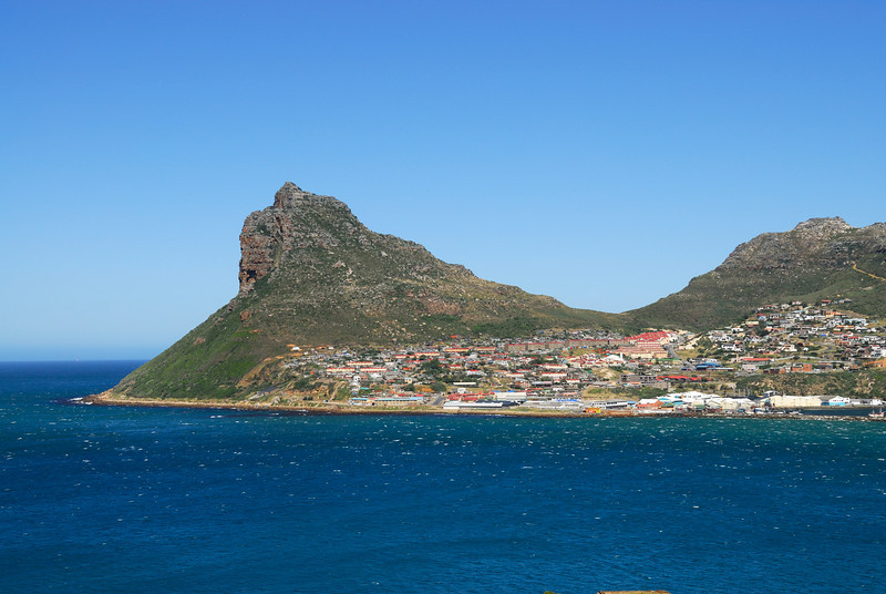 Houtbaai with Chapman's Peak