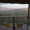 Our view from our luxury beehive hut at Isibindi Zulu Lodge.<br /> September 11, 2012.
