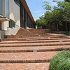 Steps outside Constitutional Court made out of bricks from former holding cell
