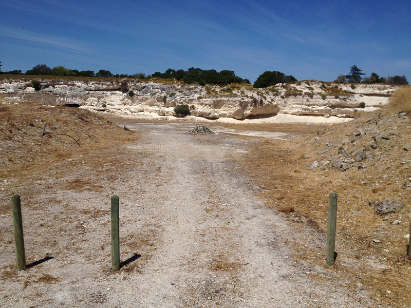 Rock Quarry, Prisoner Work Site, Robben Island