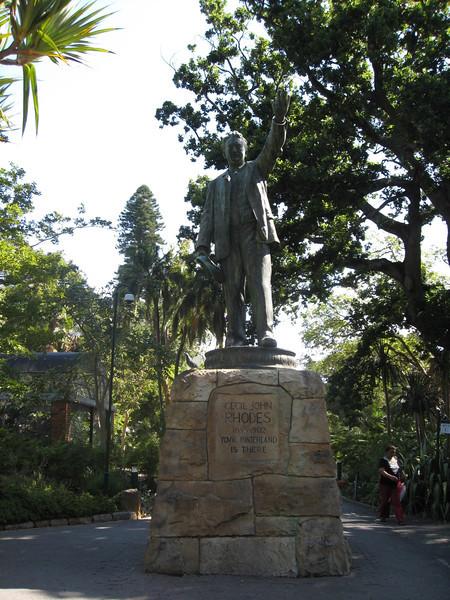 Rhodes Statue, Cape Town