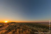 Sunset Over the Kalahari Desert