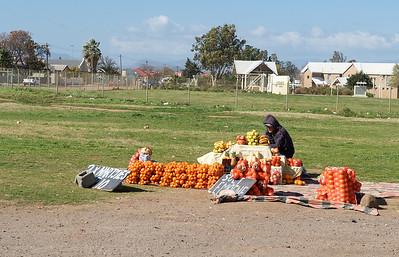 Fruit seller.