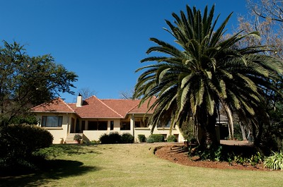 The Coopmans mansion in Joburg.