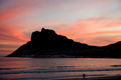 Sunset in Houtbay.