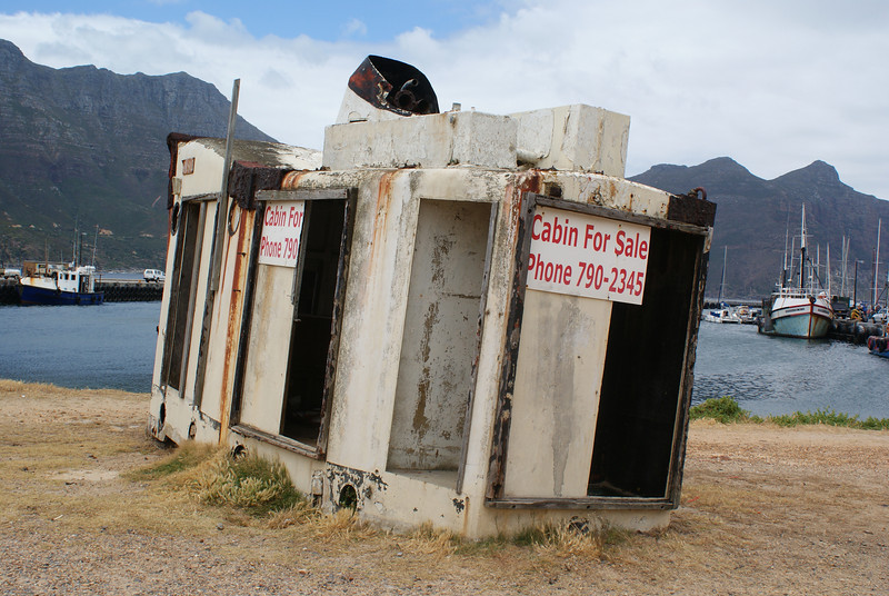 In case anyone is interested in a cabin for a boat....