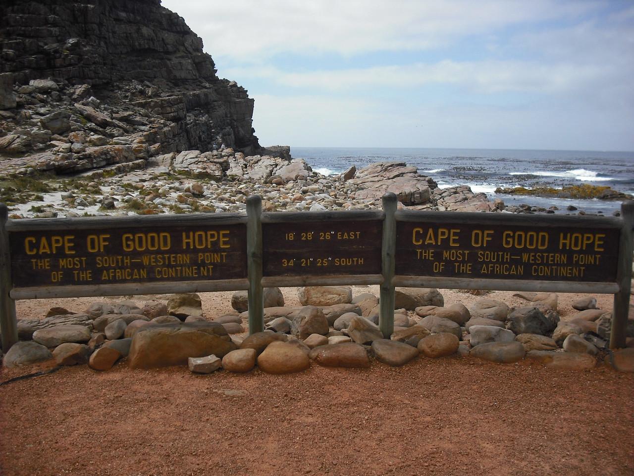 Cape of Good Hope!