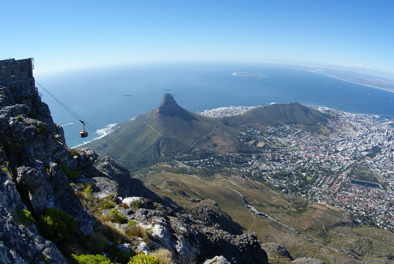 View of Cape Town from Table Mountain