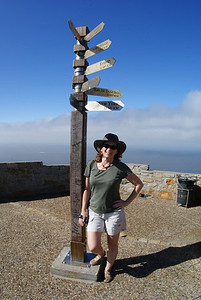 The Attache at the southern tip of Africa.