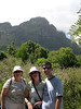 Susan, Liz and Jim during our visit to Kirstenbosch National Botanical Garden.  One of the six kingdoms of the plant world is unique to the Cape Peninsula.