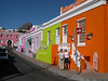 Susan and Liz in the Bo-Kaap area of Capetown.  Built in the 18th and 19th century by Malay immigrants, this area is becoming popular with young South Africans.