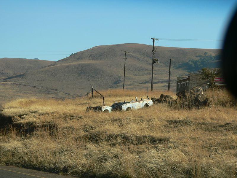 Desolate countryside