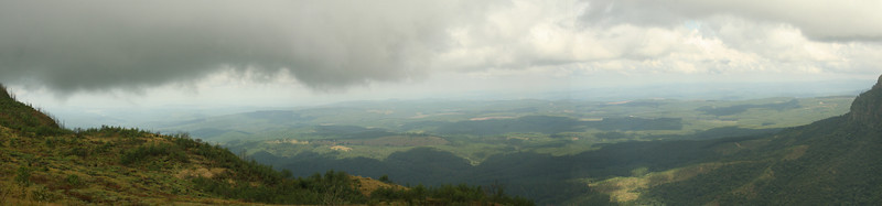 view of Lowveld from Blyde River canyon area