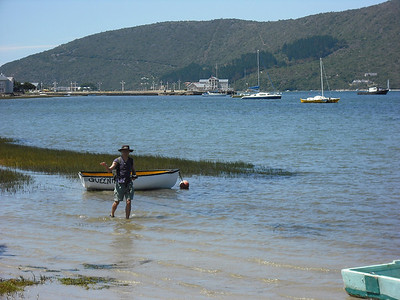 The coastal town of Knysna.