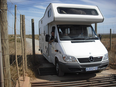 Here's a good look at our Maui Spirit 4 camper.  Our 10-day trip was a 1600 mile circuit.  We went along the southern coast for about 600 miles to Addo Elephant National Park, then took the inland (desert) route back.  The southern coast is known as the Garden Route.
