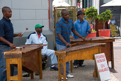 Performers, Victoria and Alfred Waterfront, Capetown, South Africa