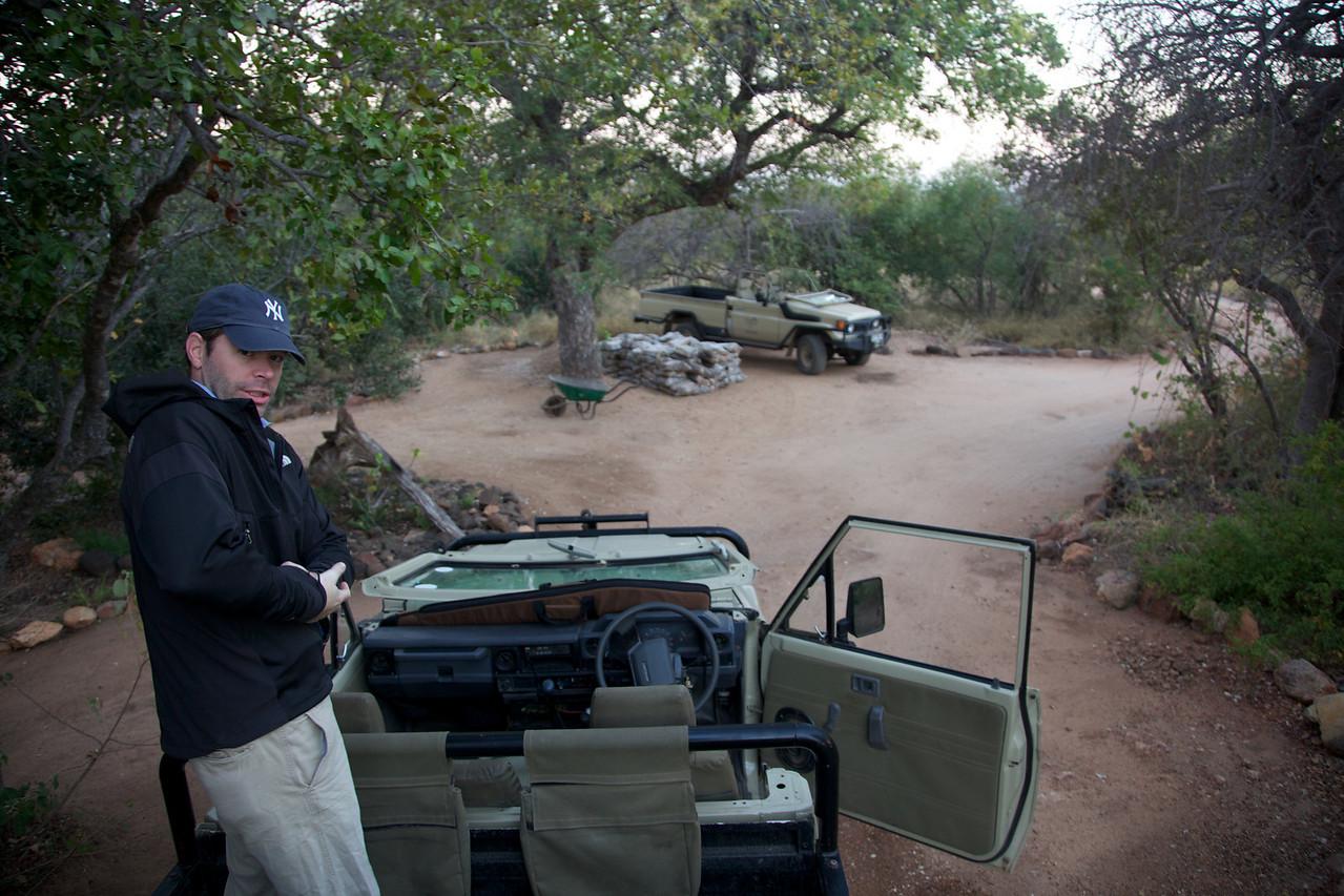 Pre-Cup Safari