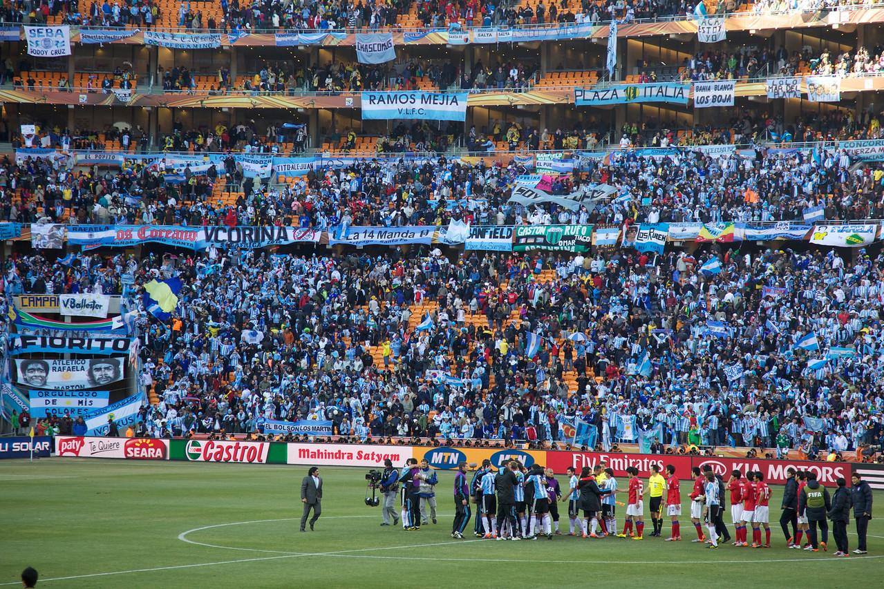 Argentina 4 - South Korea 1