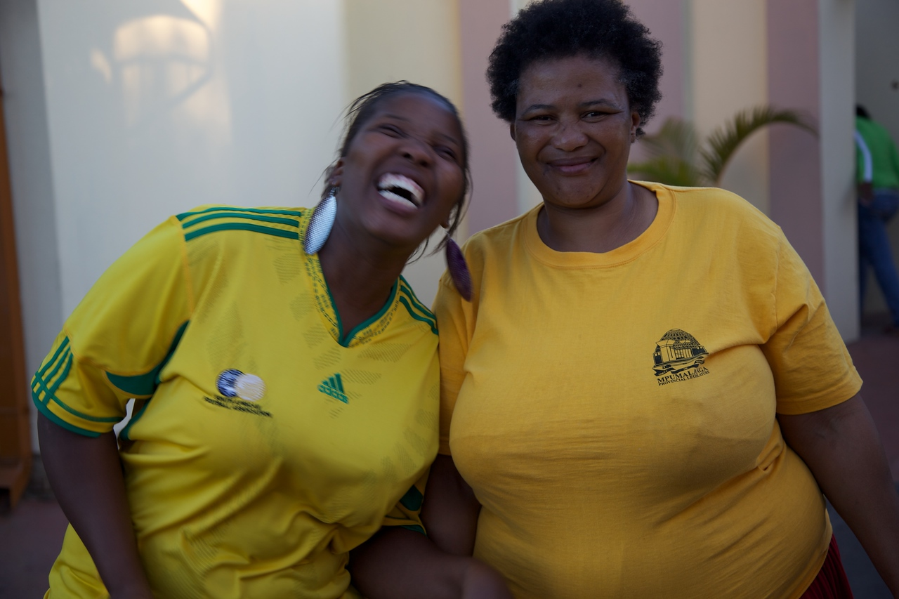 Our hosts in Nelspruit