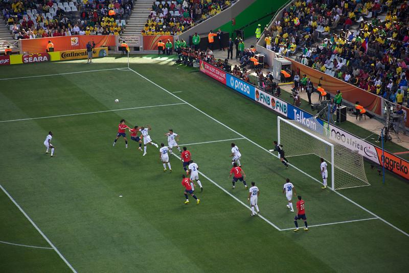 Chile 1 - Honduras 0
