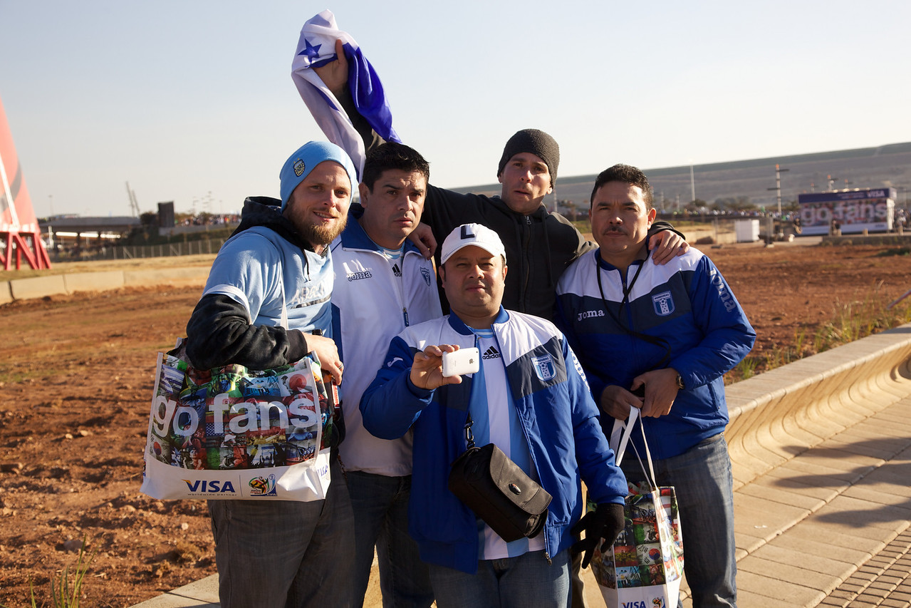Found some Honduran fans
