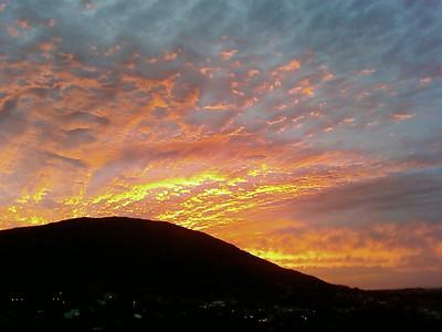 2007.12.15 : Capri Sunset (Phone Camera)