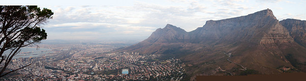 Panorama from Lion's Head