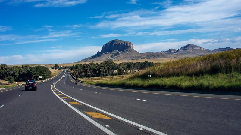 On the N3 near KwaZulu Natal