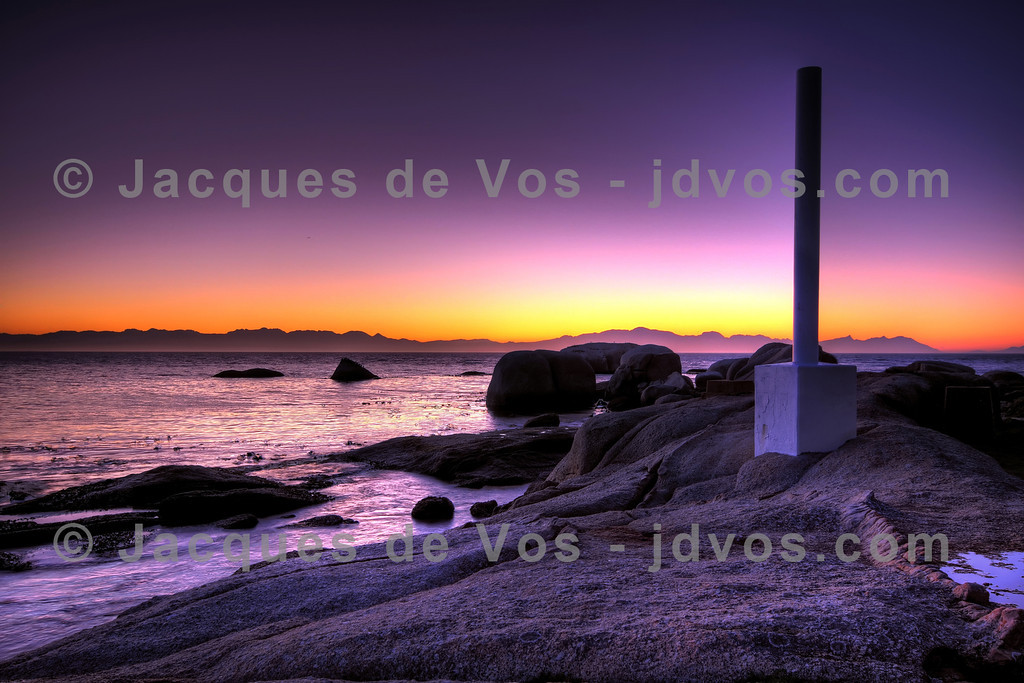"""A-Frame, Cape Town at sunrise<br /> <br /> This image was the inspiration for a celebrity dress:<br /> <a href=""""http://jdvos.com/2012/02/jacques-de-vos-photography-inspiration-for-vip-dress/"""">http://jdvos.com/2012/02/jacques-de-vos-photography-inspiration-for-vip-dress/</a>"""