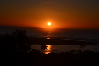 Sunset in Plettenberg Bay ……………….[ Copyright © - Photo by Barry Jucha ]